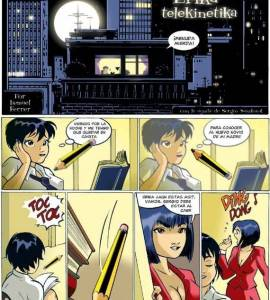 Hentai Porno - Erika Telekinetika #1 - comics-porno-xxx
