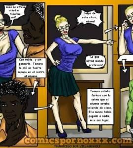 Hentai Porno - La Profesora Tamara - comics-porno-xxx