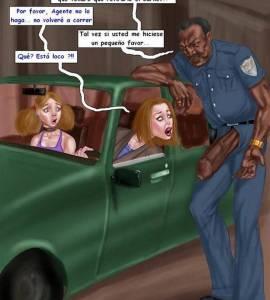Hentai Porno - Un Policia Negro muy Pervertido - comics-porno-xxx