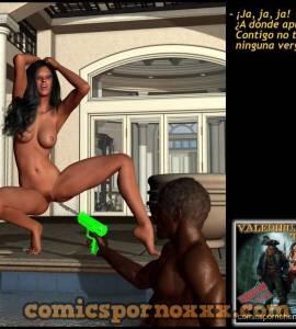 Hentai Porno - La Chica de la Piscina Enculada por Negros Dotados - porno-3d