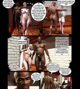 Hentai Porno - Un Cumpleaños muy Negro - porno-3d