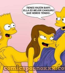 Hentai Porno - Bart Simpson se Folla a Laura Powers - los-simpson