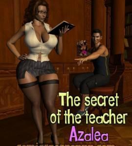 Hentai Porno - The Secret of the Teacher Azalea (El Secreto de la Maestra) - porno-3d