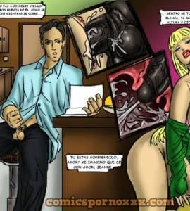 Hentai Porno - Una Carta Interracial - comics-porno-xxx