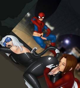 Hentai Porno - SpiderCest #9 - comics-porno-xxx
