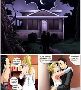 Hentai Porno - Noche de Bodas con un Monstruo Polludo - comics-porno-xxx