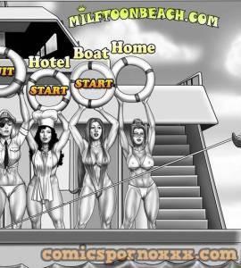 Hentai Porno - Milftoon Beach #2 (V.2.191) - milftoon, imagenes-porno