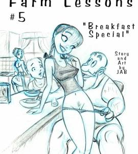 Hentai Porno - Lecciones de Granja #5 y #6 - comics-porno-xxx