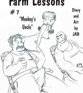 Hentai Porno - Lecciones de Granja #7 y #8 - comics-porno-xxx