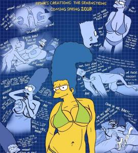 Hentai Porno - The Simpsons are The Sexenteins - los-simpson