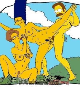 Hentai Porno - Ned Flanders Imágenes XXX (Wallpapers) - imagenes-porno