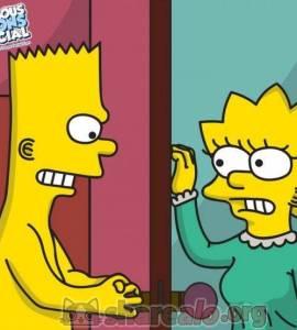 Hentai Porno - Bart Violando a su Hermana Lisa Simpson en su Cuarto - los-simpson, imagenes-porno