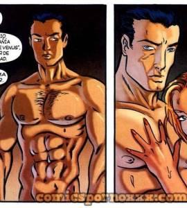 Hentai Porno - Chicas Lesbianas Folladas por un Taxi Boy (El Regalo) - comics-porno-xxx